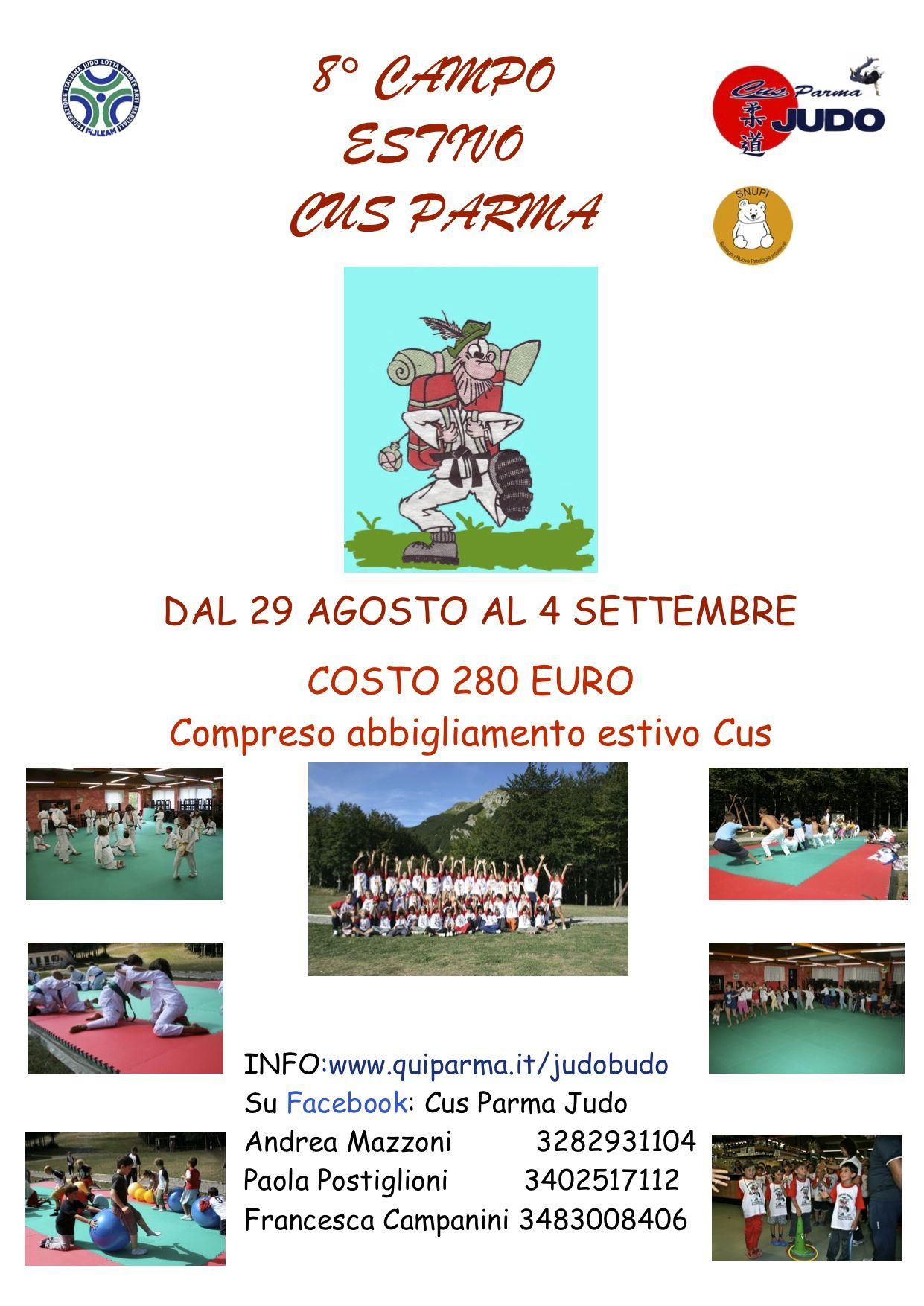 8° Campo Estivo Cus Parma