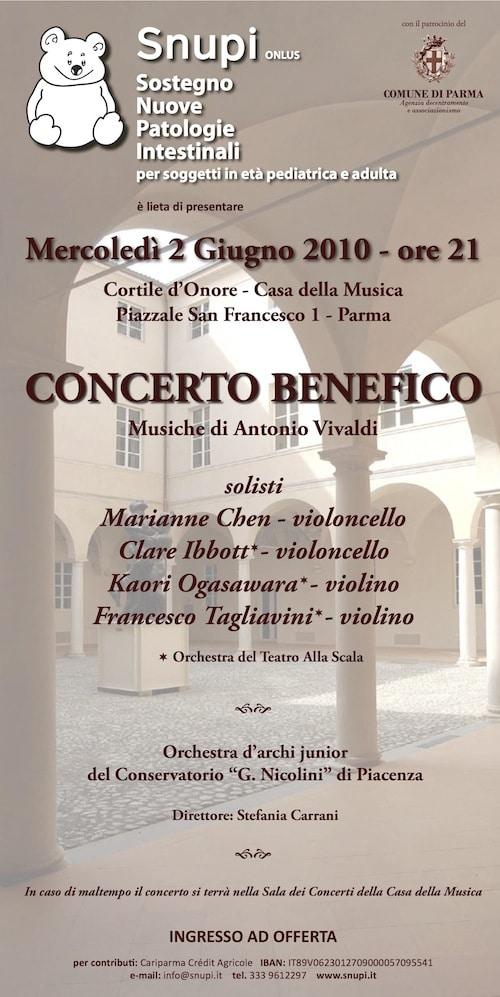 Concerto Benefico 2010