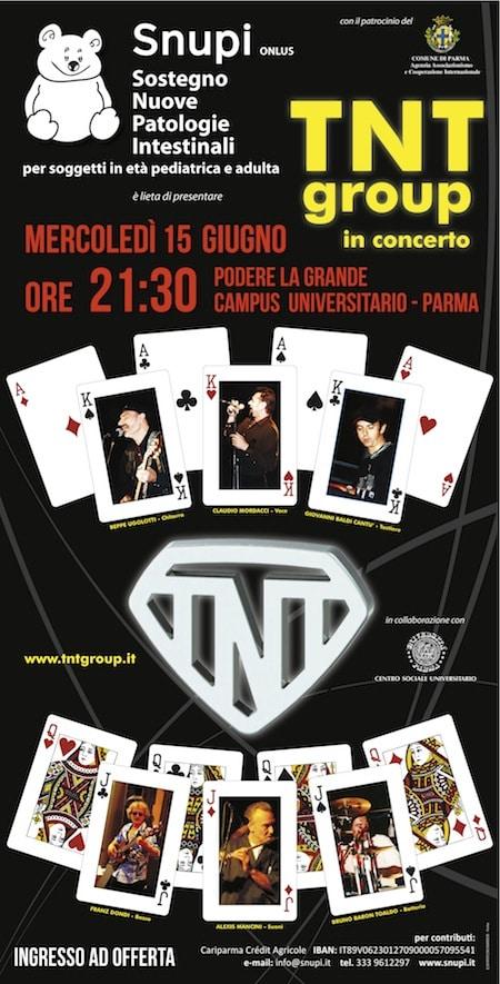 Inizia l'Estate con Snupi e il TNT group in concerto!