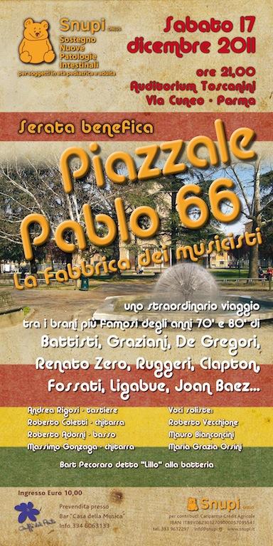 Piazzale Pablo 66: la fabbrica dei musicisti.