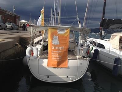Snupi e la Barcolana di Trieste
