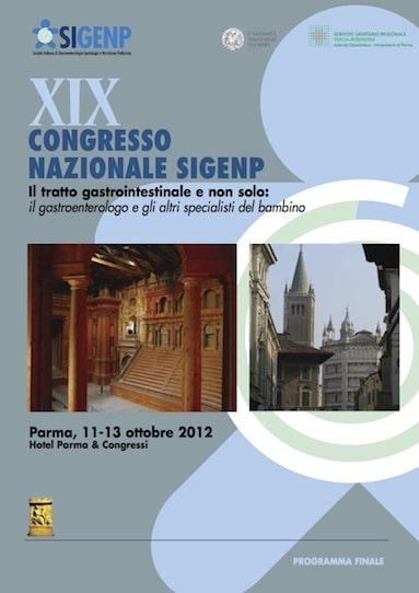 XIX Congresso Nazionale Sigenp