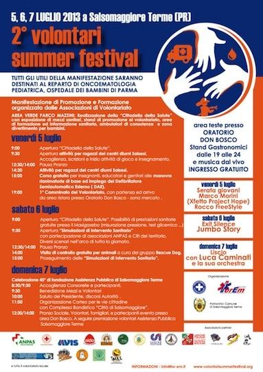 Snupi al Volontari Summer Festival