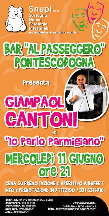 "Giampaolo Cantoni in ""Io parlo parmigiano"""