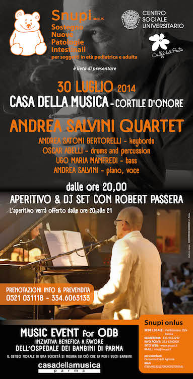 Andrea Salvini Quartet in concerto