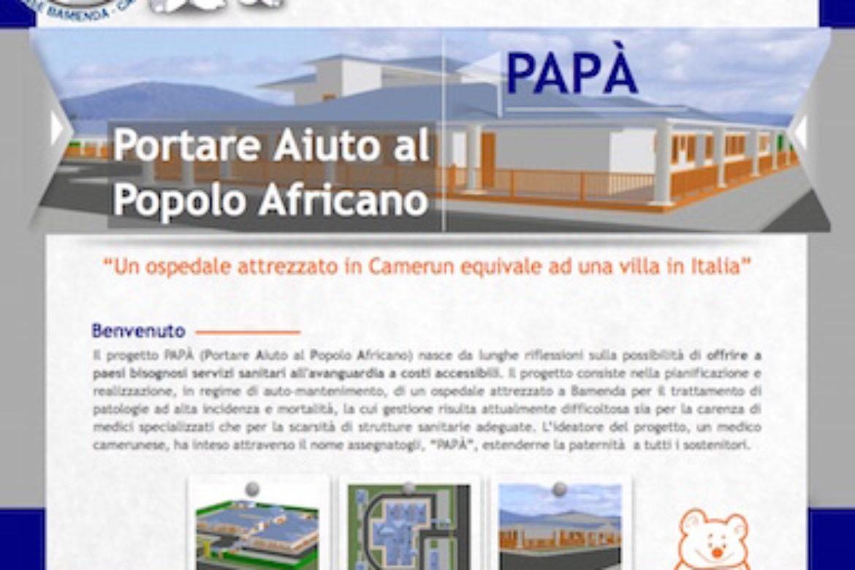 Aperto il portale www.papabamenda.org