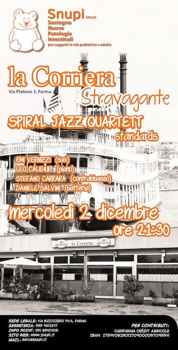 Spiral Jazz Quartet in concerto