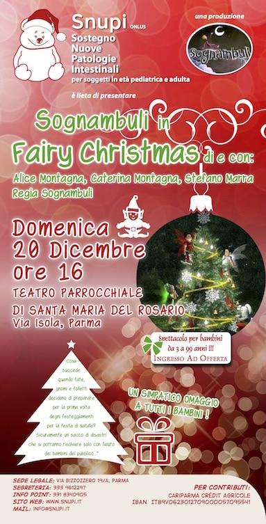 "Sognambuli in ""Fairy Christmas"""