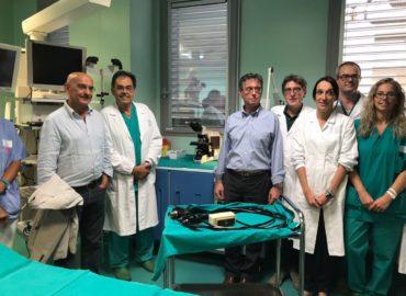La mano tesa di Snupi al reparto di Gastroenterologia