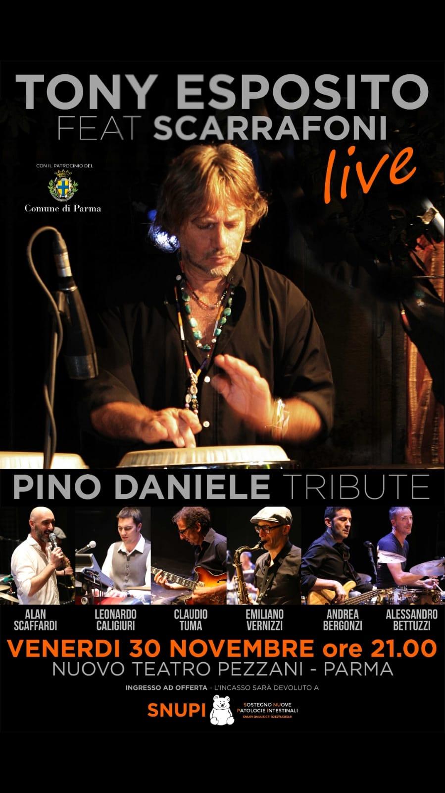 Pino Daniele Tribute, 30 Novembre 2018