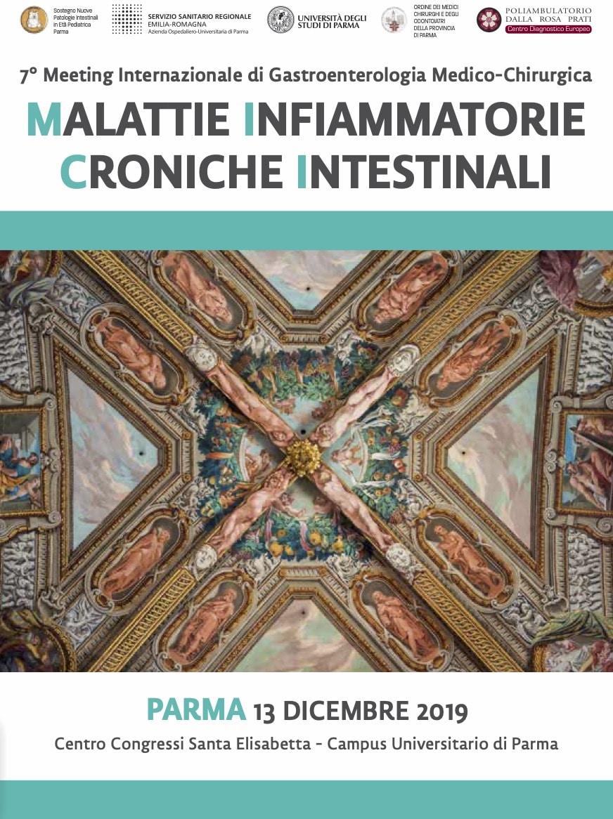 Malattie Infiammatorie Croniche Intestinali: 7° Meeting Internazionale di Gastroenterologia Medico-Chirurgica